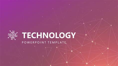 modern technology powerpoint template slidemodel