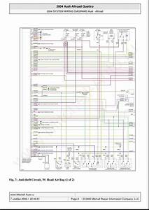 Audi A6 Allroad C5 Quattro Wiring Diagrams Page 8