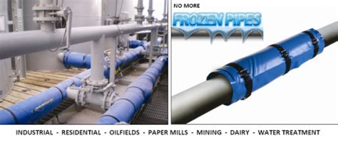 pipes  freezing powerblanket