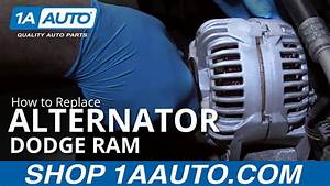 How To Replace Alternator 02-08 Dodge Ram