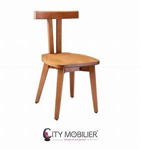 Chaise Bois Design : chaise minimaliste en bois stevenson city mobilier ~ Teatrodelosmanantiales.com Idées de Décoration