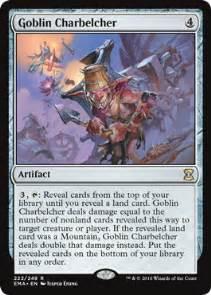 goblin charbelcher from eternal masters spoiler
