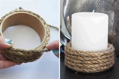 diy candle holders easy diy candle holders littlethings