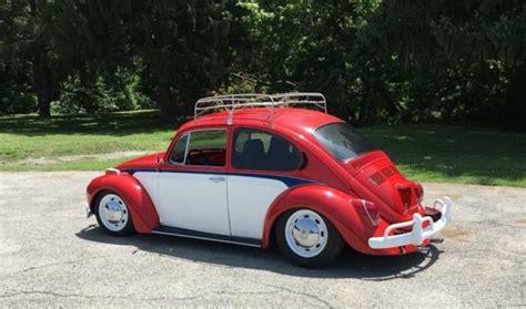 vw super beetle custom  lots   parts paint