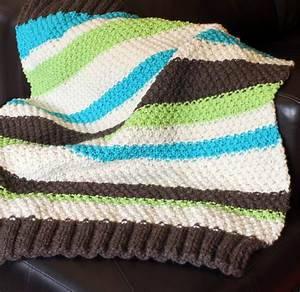 free easy knitting patterns for baby blankets for ...