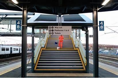 Platform Cambridge Island Stairs East Alderson Jerry