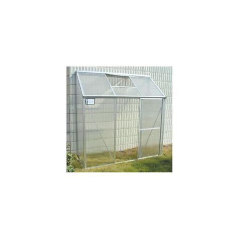 serre de balcon adoss 233 e en polycarbonate 1 26m 178 plantes et jardins