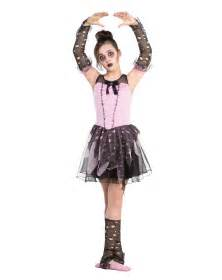 Girl Zombie Dancer Halloween Costume