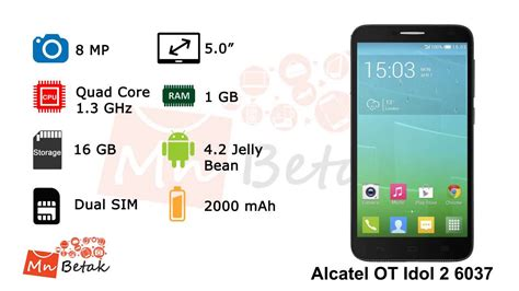 Alcatel One Touch Idol 2 6037 Dual Sim  Official Video Of