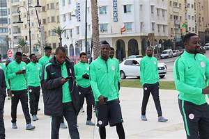 Super Eagles Players Observe Traditional Team Walk Ahead ...
