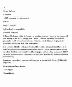 10 sample lease proposal letters pdf pages sample With land sale proposal sample letter