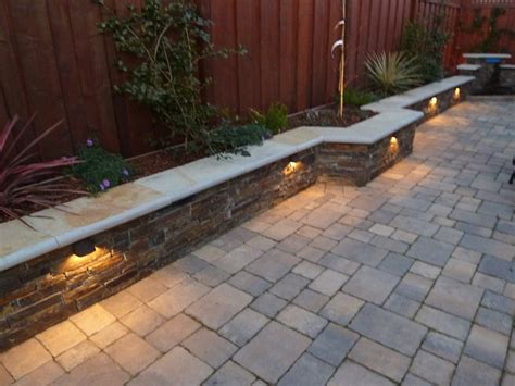 wall lights design outdoor retaining landscape wall