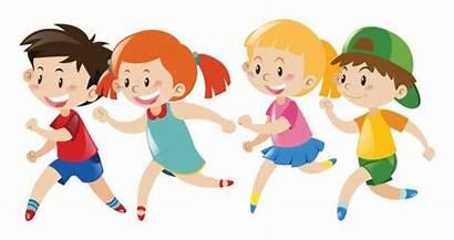 Running Club Clipart Children Vector Ks1 Clip