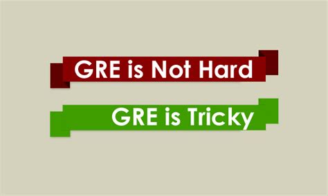 The Gre Is Not Hard, The Gre Is Tricky  Brightlink Prep