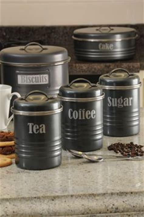 typhoon kitchen accessories typhoon tea coffee and sugar storage set the look 2998