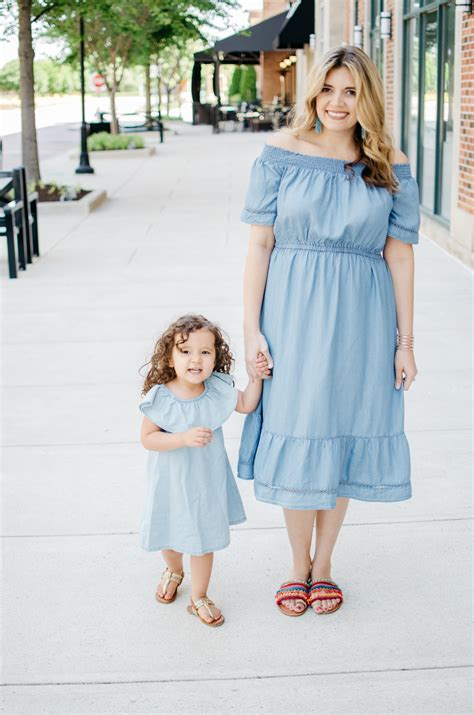 Summer Mommy Daughter Style - Chambray Dresses | By Lauren M