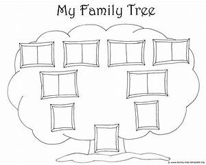 Family Tree Template for Kids: Printable Genealogy Charts ...