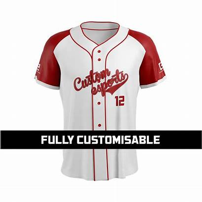 Baseball Custom Jersey Short Jerseys Sleeve Esports