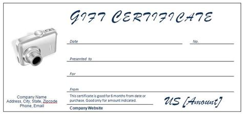 Gift Certificate Template Open Office by 40 Gift Certificates Templates For Any Occasion