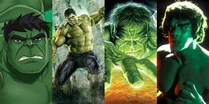 Every Adaptation Of The Incredible Hulk, Ranked Worst To Best