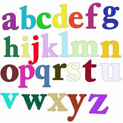 Alphabet Clipart Lowercase Letters Lower Case Letter