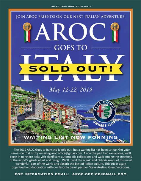 Alfa Romeo Coming To Usa by Aroc Alfa Romeo Owners Club Usa