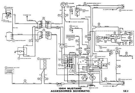 1966 Ford F100 Horn Diagram by Wiring Diagram Also Wiring Diagram Further 66 Mustang Horn