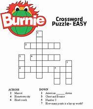 Free Printable Easy Crossword Puzzles Kids