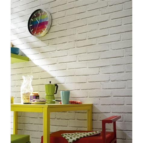 cuisine loft leroy merlin papier peint papier brique loft blanc leroy merlin