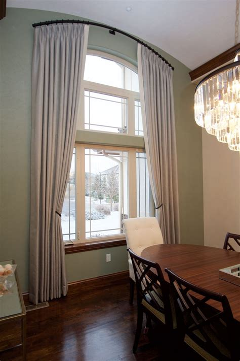 arch window treatments images  pinterest