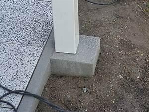 Betonfundament Für Pfosten : sichtschutz terrasse hier auf ma ab werk online kaufen ~ Whattoseeinmadrid.com Haus und Dekorationen
