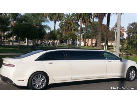 lincoln mkz sedan stretch limo american limousine