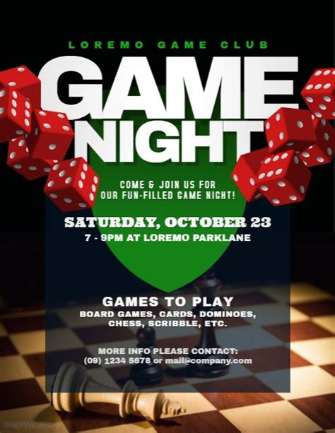 Game Night Flyer Templates  Postermywall. Cocktail Menu Template. Baby Boy Invitations. Landscape Maintenance Contract Template. Beer Can Label Template. Free Invitation Card Template. Anti Bullying Posters. Diy Superhero Mask Template. Make Structural Steel Estimator Cover Letter