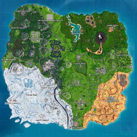 fortnite season  map replaces wailing woods