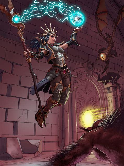 scAtterBrain: Diablo III Wizard - WIP #4
