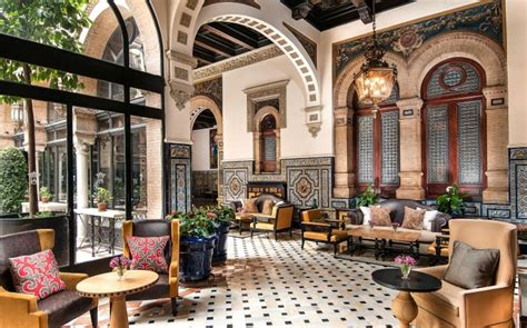 the best five star hotels in seville telegraph travel