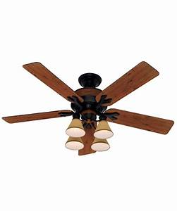 Hunter fan lancaster inch ceiling with light