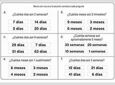 Matemáticas Primaria Problemas de horas