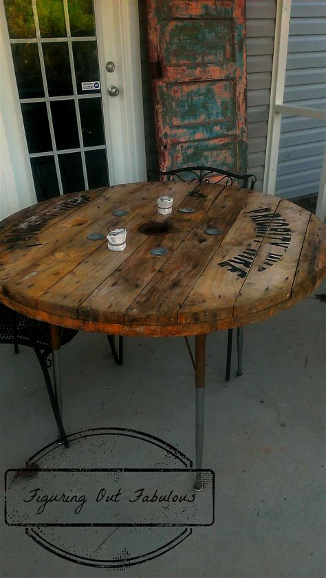 Patio Table Made From Cable Spool And An Old Student Desk. Patio Stone Ireland. Patio Landscaping Trees. Construction Patio Au Sol. Patio & Garden Outdoor Furniture Lawn Grills. Enclosed Outdoor Patio. Patio Bar In Plano. Patio Table Dwg. Patio Lighting Ideas Pinterest
