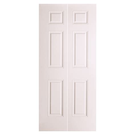 shop reliabilt 24 in x 79 in 6 panel hollow molded