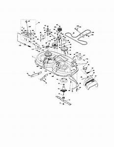Craftsman Model 917t287121 Lawn  Tractor Genuine Parts