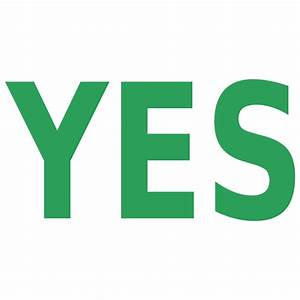 Clipart - YES    NO anim