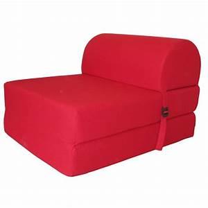 Chauffeuse D Appoint : chauffeuse d pliable rouge polycoton achat vente ~ Teatrodelosmanantiales.com Idées de Décoration