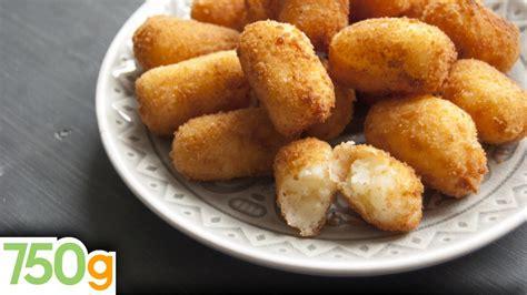 recette de croquettes de pommes de terre 750 grammes