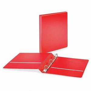 cardinal basicselect non locking round ring binders 1 With letter size binder