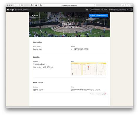 apple maps connect alimentez plans slice42