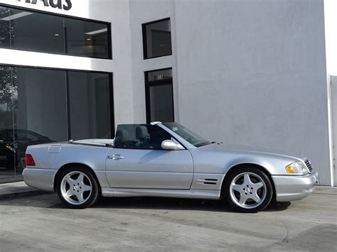 The sl 55 amg was the fastest car in the world fitted with an automatic transmission at the time of its launch. 2002 Mercedes-Benz SL-Class SL 500 *** AMG SPORT PACKAGE *** Stock # 6357 for sale near Redondo ...