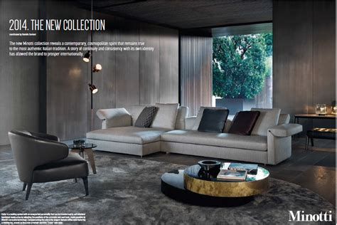 minotti special  pages ad campaign  oct wallpaper