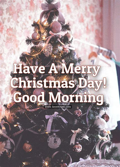 merry christmas day good morning pictures