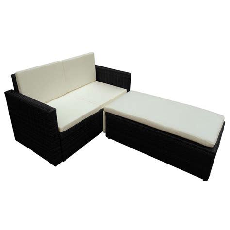 canape en resine tressee la boutique en ligne canapé bain de soleil modulable